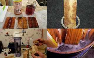 Стабилизация древесины в домашних условиях