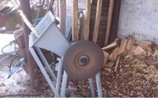 Изготовление дробилки для древесных отходов своими руками