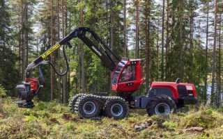 Харвестер — комбайн для автоматизированной валки леса