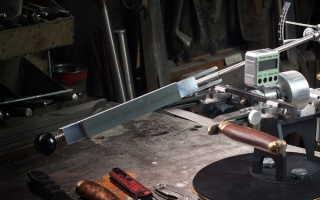 Как правильно затачивать ножи на точильном станке