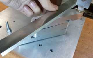 Заточка ножей для фуганка и рейсмуса