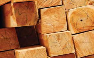Плотность пород древесины