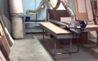 Изготовление форматно-раскроечного станока своими руками