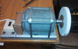 Наждак из двигателя от стиральной машины своими руками