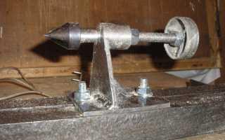 Задняя бабка токарного станка по дереву