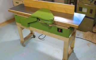 Изготовление фуговального станка своими руками в домашних условиях