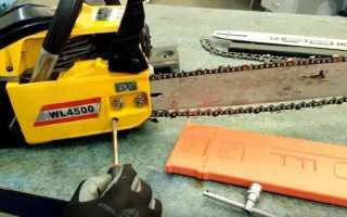 Заточка цепи электропилы в домашних условиях