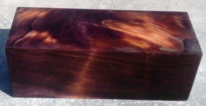 Брусок из стабилизировнной древесины