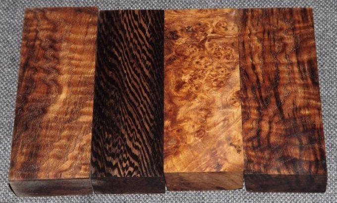 Неокрашенная стабилизированная древесина