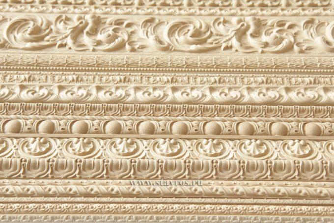 Орнамент из древесной пасты