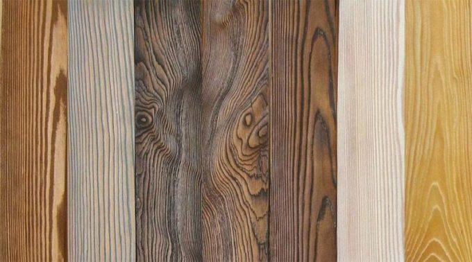 Выбор древесины для браширования