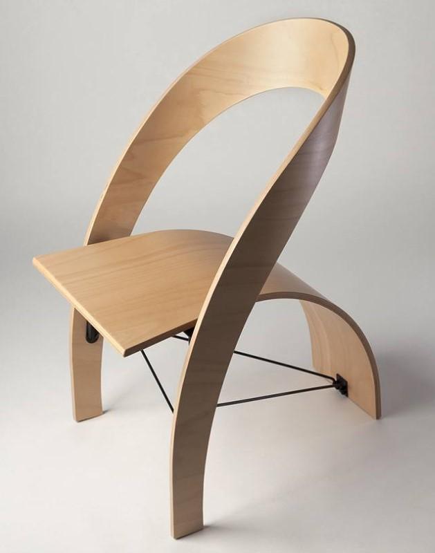 Кресло из гнутой фанеры