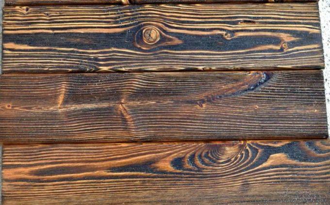 Брашированная древесина