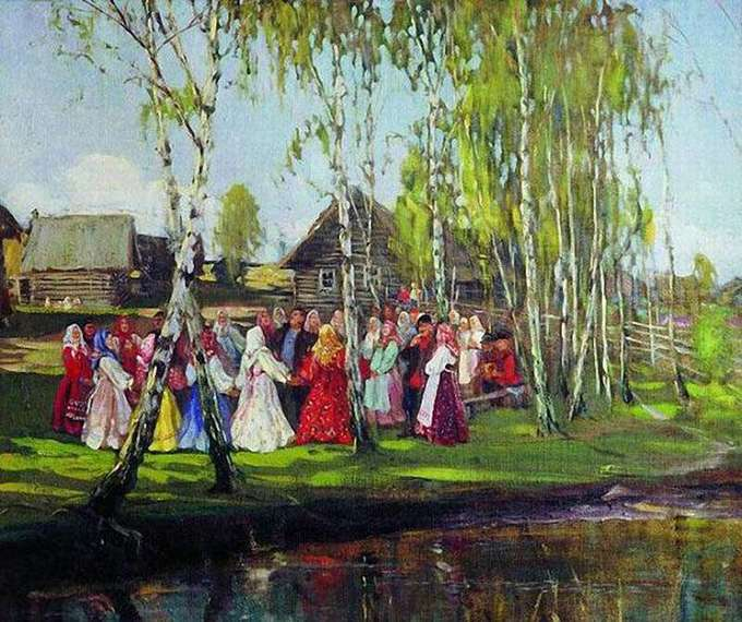 Береза играла важную роль у славян