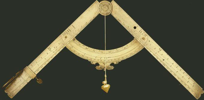 Старинный циркуль Галилея