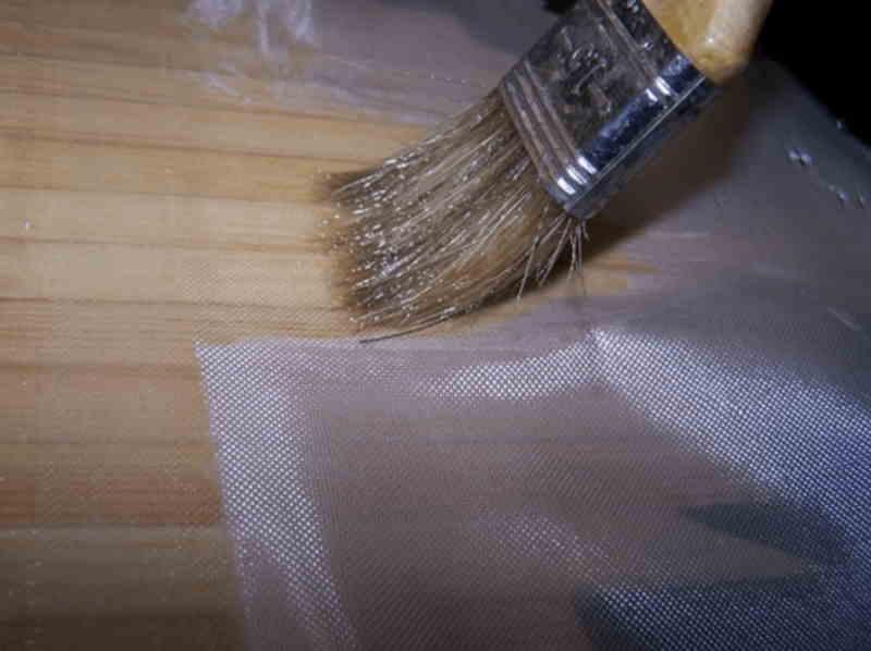 Стеклоткань для обработки фанеры