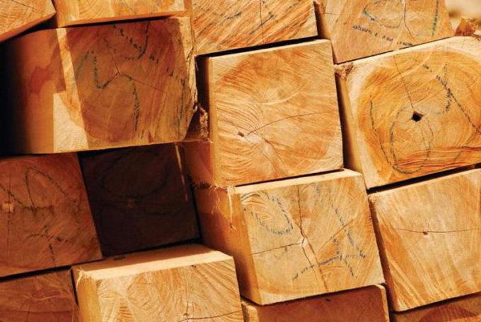 Бруски древесины