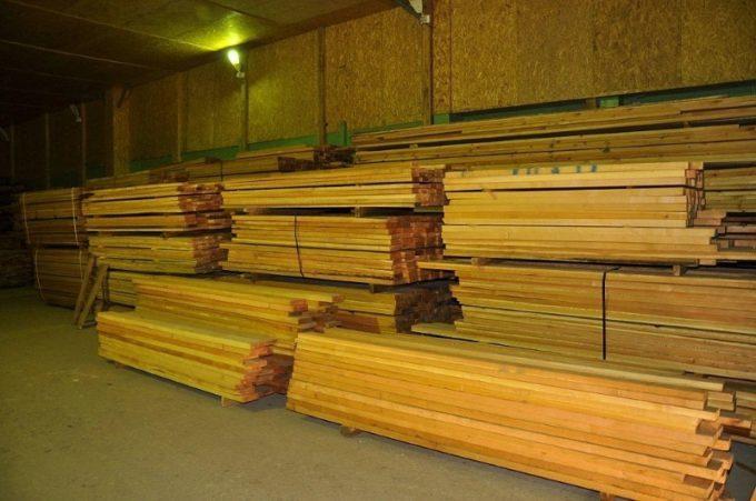 Хранение высушенной древесины