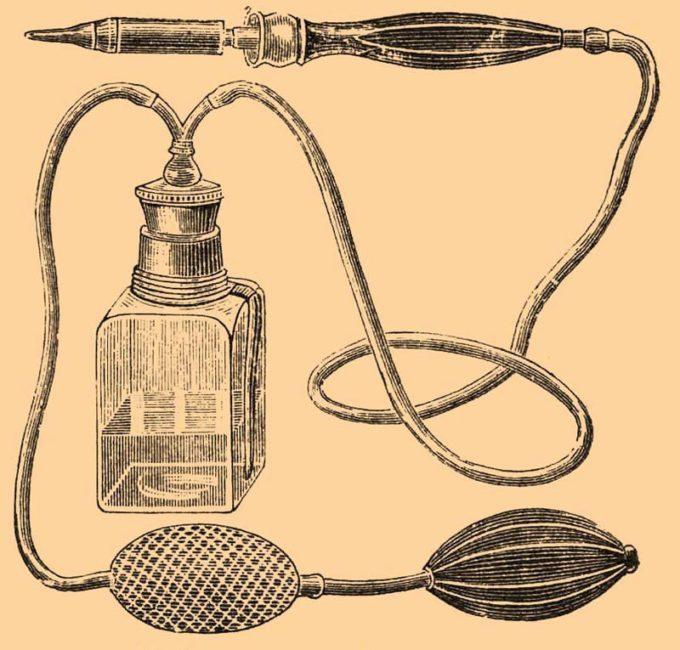 Старинный прибор для выжигания