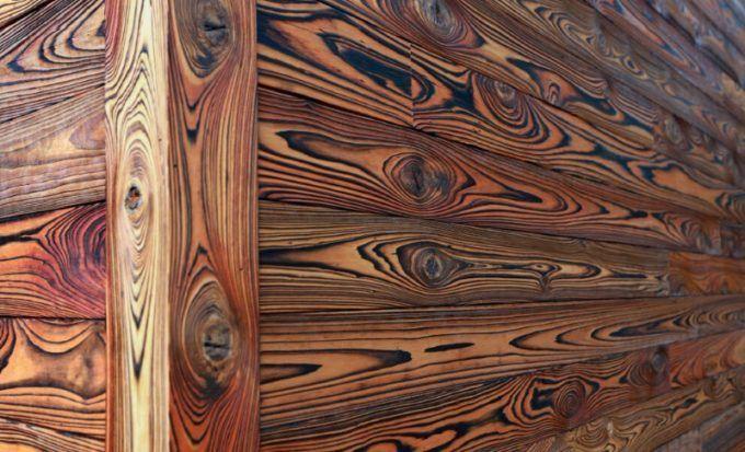 Текстура обожженной древесины