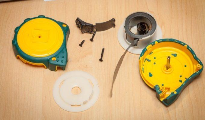 Элементы измерительной рулетки