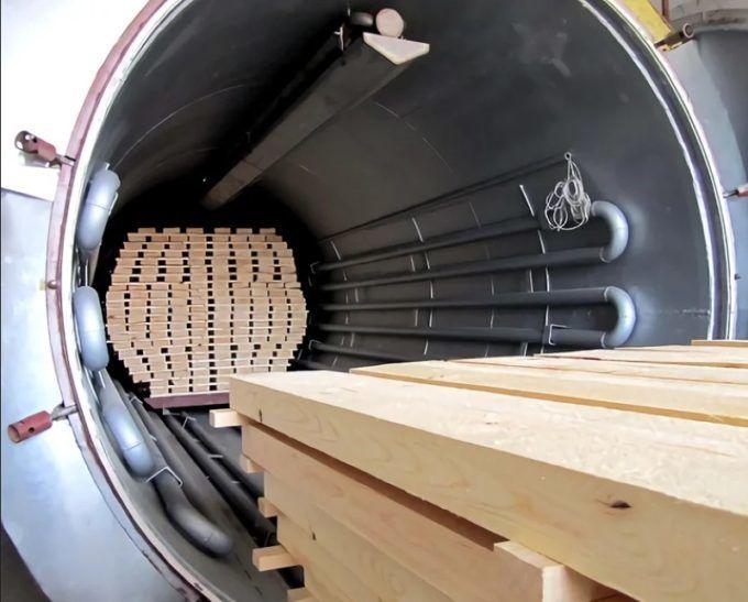 Вакуумная сушка древесины