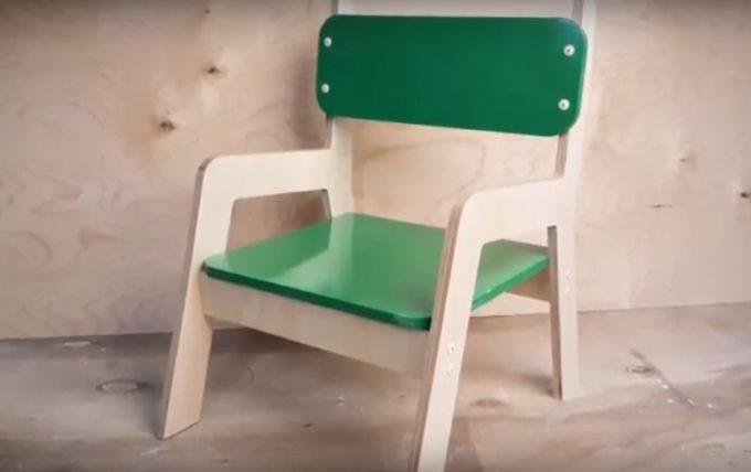 Готовый детский стульчик