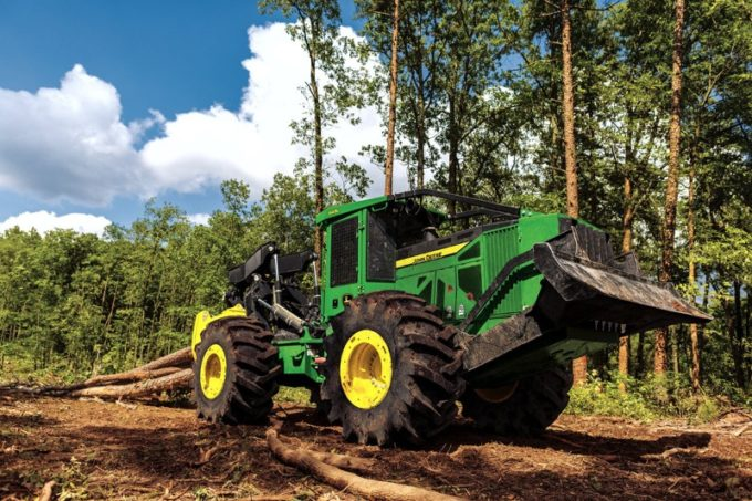 Трелевочный трактор