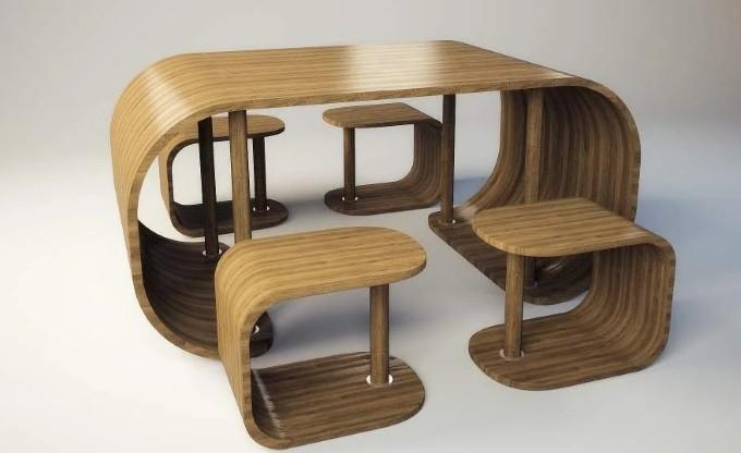 Мебель из фанеры покрытая лаком