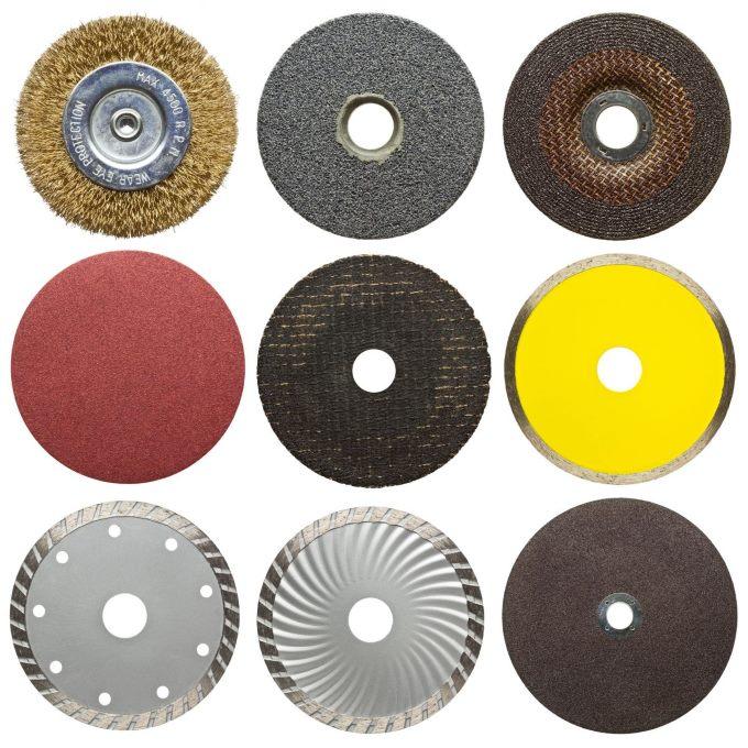 Типы шлифовальных кругов