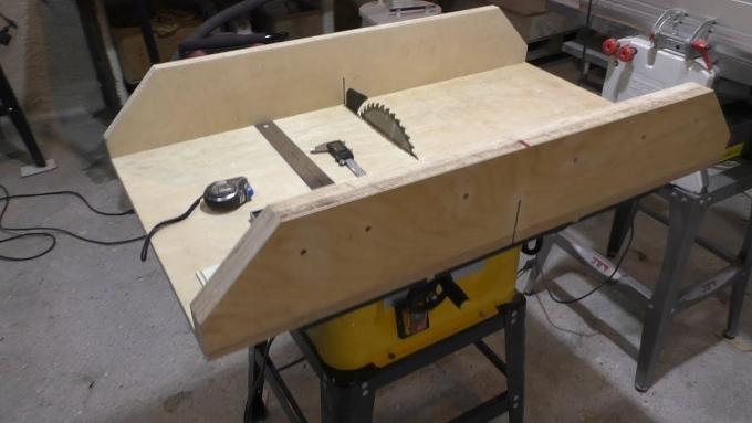 Требуемые материалы для изготовления стола