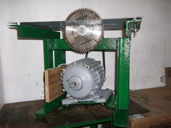 Двигатель для самодельной циркулярной пилы