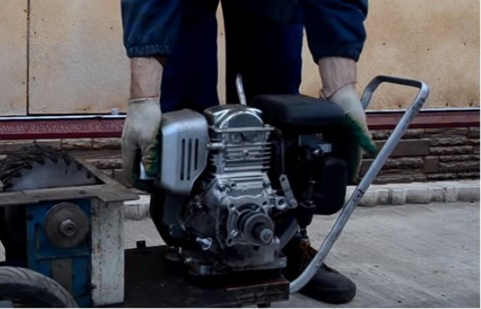 Двигатель для самодельной дробилки