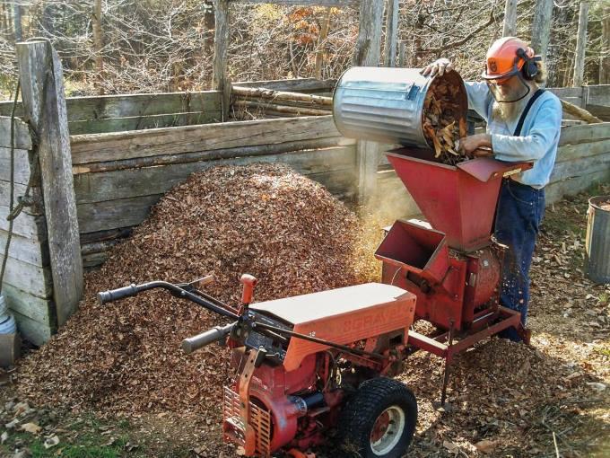 Дробилка древесных отходов